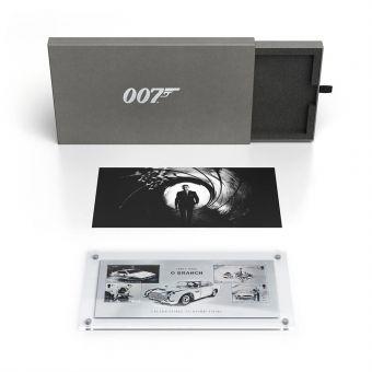 James Bond Limited Edition Silver Miniature Sheet