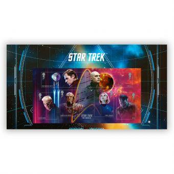 Star Trek Movies Stamp Sheet Set