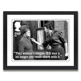 Coronation Street Enlarged Print: Ena and Elsie