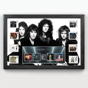 Queen Framed Stamp Set and Miniature Sheet