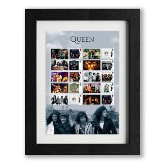 Queen Framed Album Cover Collector's Sheet