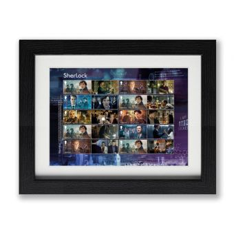 Sherlock Framed Collectors Sheet