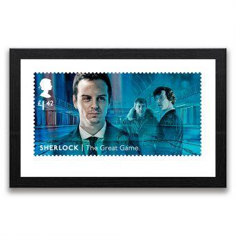 Sherlock: The Great Game Framed Gallery Print