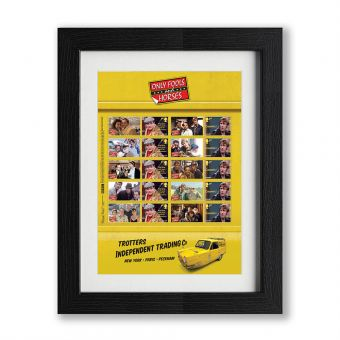 Only Fools and Horses Framed Collectors Sheet