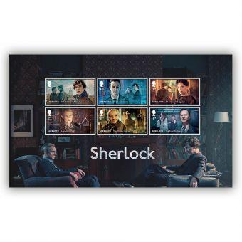 Sherlock Stamps Unframed Mount