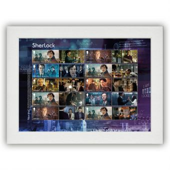 Sherlock Collectors Sheet Unframed Mount