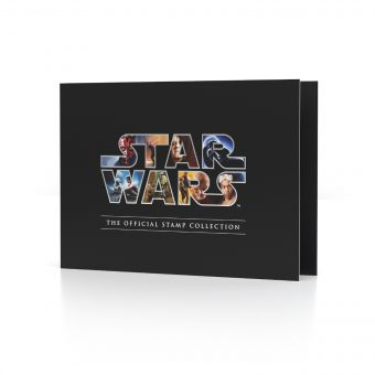 STAR WARS™ The Official Stamp Collection Folder