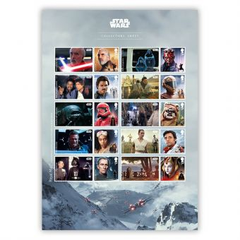STAR WARS™ 2019 Collectors Sheet