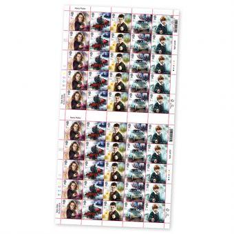 Harry Potter Hermoine Grainger Full Stamp Sheet