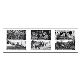 D-Day 75th Anniversary Set of Six Special Stamps