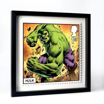 Royal Mail MARVEL Hulk Framed Gallery Print