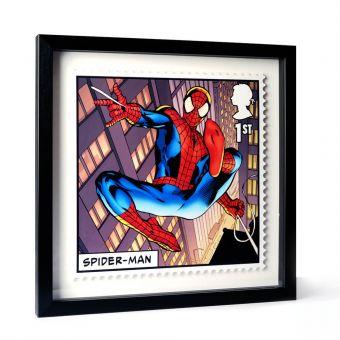 Royal Mail MARVEL Spider-man Framed Gallery Print