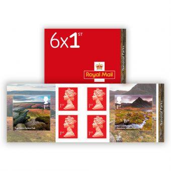National Parks Stamp Book
