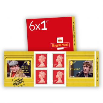 Only Fools and Horses 1st Class Stamp Book