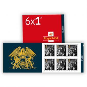 Queen Legends Retail Stamp Book