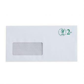 V4 100 X 2nd Class Dl Window Envelope Max 100G 2