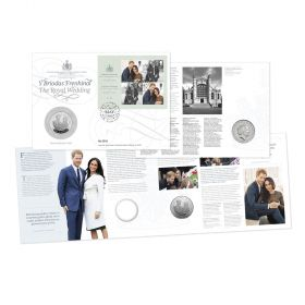 The Royal Wedding Brilliant Uncirculated Coin Cover