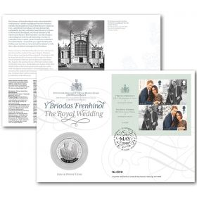 The Royal Wedding Silver Proof Coin Cover
