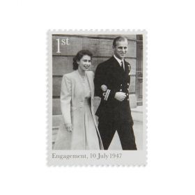 Royal Mail the Royal Wedding Platinum Anniversary Presentation Pack 1