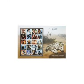 Aw066 Royal Mail Star Wars Stamp Souvenir Ultimate Edition 1