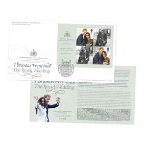 The Royal Wedding Stamp Sheet Souvenir