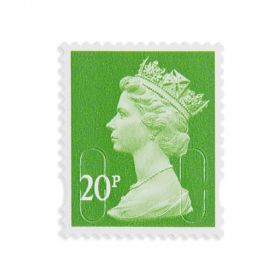 Royal Mail 20p X 25 Self Adh Stamps