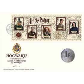 Harry Potter™ Limited Edition Hogwarts Medal Cover