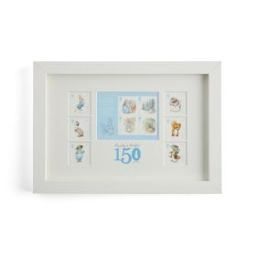 N3084 Royal Mail Framed Beatrix Potter Stamps And Stamp Sheet 1