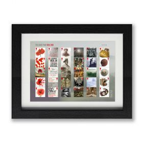 The First World War 1918 Framed Stamp Set