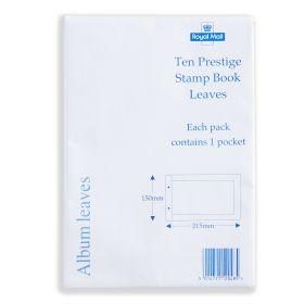 Royal Mail Prestige Stamp Book Album Inserts