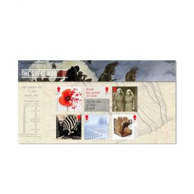 Royal Mail the First World War 1917 Presentation Pack 1