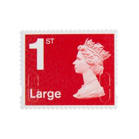 Royal Mail 4 X 1st Class Large Stamp Book