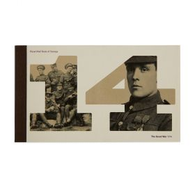 Royal Mail First World War 1914 Prestige Stamp Book