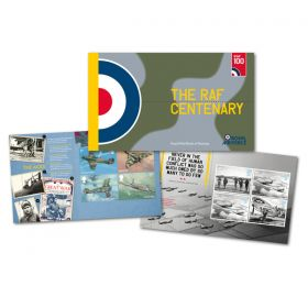 Royal Mail Raf Centenary Limited Edition Prestige Stamp Book