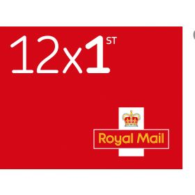 Royal Mail 12 x First Class Stamp Book