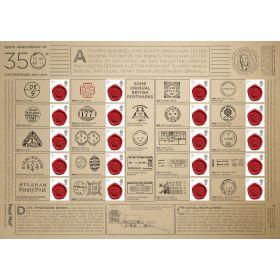 350 Years Of The Postmark Generic Sheet