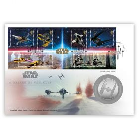 STAR WARS™ A Galaxy of Vehicles Silver Medal Cover