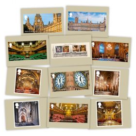 Palace of Westminster Postcards