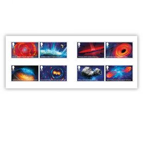 Visions of the Universe Set of 8 Special Stamps