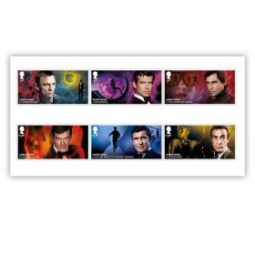 James Bond Stamp Set