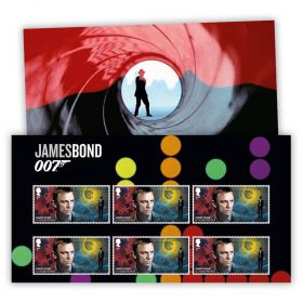 Casino Royale Character Stamp Set