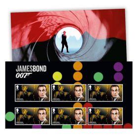 Goldfinger Character Stamp Set
