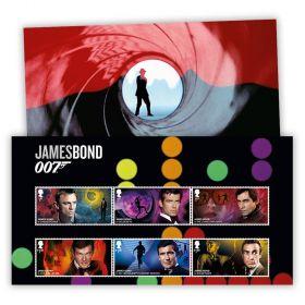 James Bond Character Stamp Set