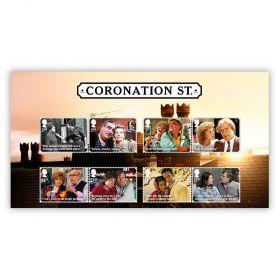 Coronation Street Character Stamp Set