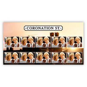 Coronation Street Character Stamp Set: Ken and Deirdre