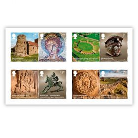 Roman Britain Stamp Set