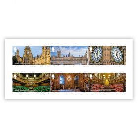 Palace of Westminster Stamp Set