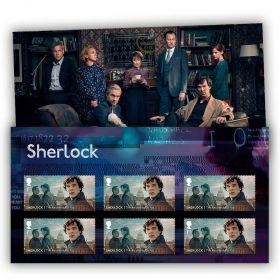 Sherlock: The Reichenbach Fall Stamp Set