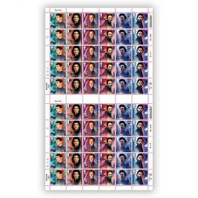 Star Trek Full Sheet 1st Class Stamp x 60 - Spock