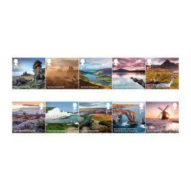 National Parks Stamp Set